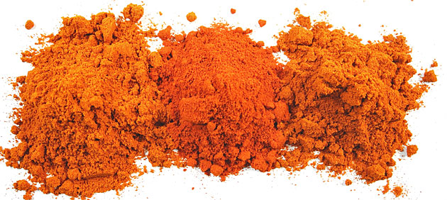Illustration 1: Paprika powder to suit every taste